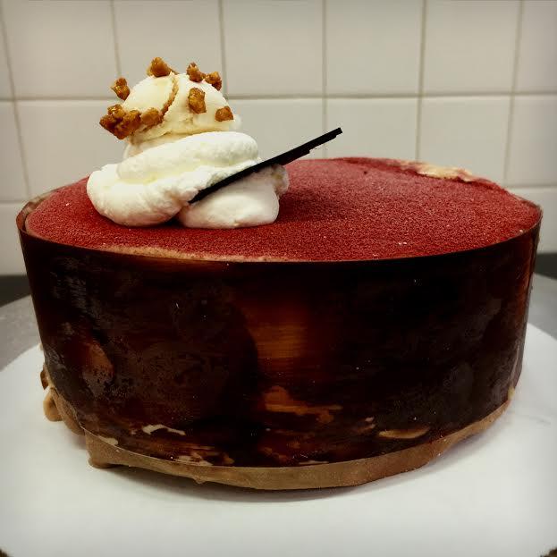 Wood Grain Cake